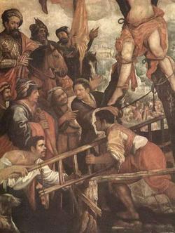 Мучение св. Андрея (Руелас)