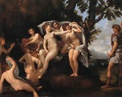 Диана и Актаион (Франческо Альбани)