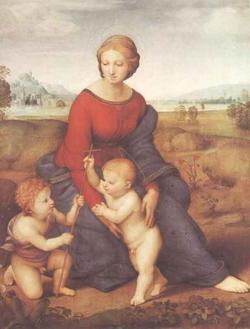 Madonna in Crunen (Рафаэль)
