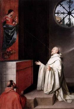 Видение св. Бернарда (Алонсо Кано)