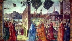 Роспись церкви Santa Maria Novella во Флоренции (Братья Гирландайо)