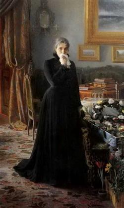 Неутешное горе (Крамской И.Н., 1884 г.)