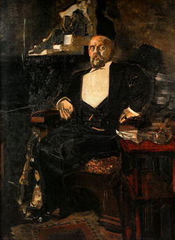 Портрет С.И. Мамонтова (М.А. Врубель, 1897)