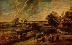 Фламандский пейзаж (П.П. Рубенс)