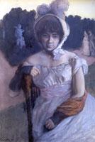 А.К. Бенуа. (К.А. Сомов, 1896 г.)