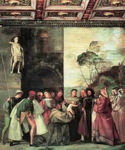 Чудо святого Антония с младенцем (Тициан)