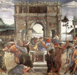 Гнев Моисея (Сандро Боттичелли)