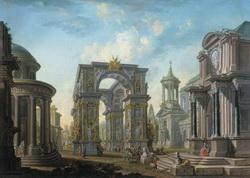 Руины (Царскосельский дворец, А. Бельский)