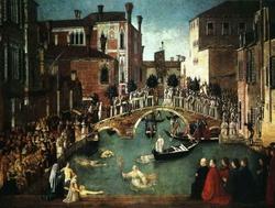 Чудо с реликвией Святого Креста (Джованни Беллини)