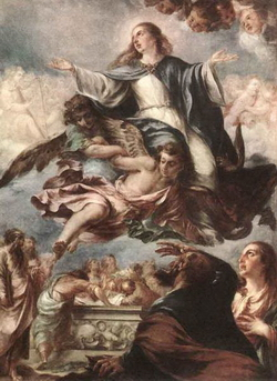 Явление Богородицы (Хуан де Вальдес Леаль)