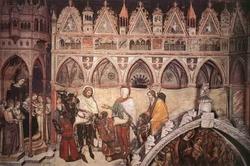 Фреска в церкви Сан-Джакомо в Падуе (Аванцо)