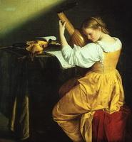 Лютнистка (О. Джентилески)