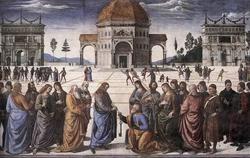 Передача ключей святому Петру (Перуджино)