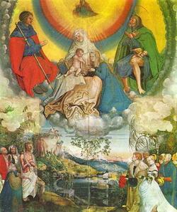 Св. Анна, заступница от чумы (Николаус Мануэль Деутш)