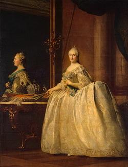 Портрет Екатерины II (Д.Г. Левицкий, 1782)