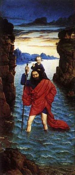 Св. Христофор (Дирик Боутс)