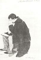 Н.Л. Бенуа в Риме. (В.И. Штернберг, 1840 г.)