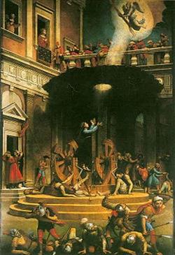 Мучение святой Екатерины (Джулиано Буджардини)