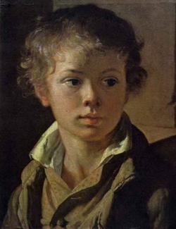 Портрет сына художника (В. Тропинин)