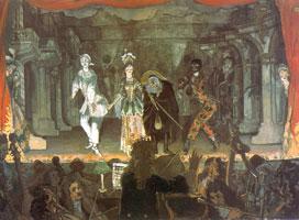 """Итальянская комедия. """"Любовная записка"""". 1905 г."""