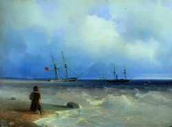Морской берег (Айвазовский И.К., 1840)