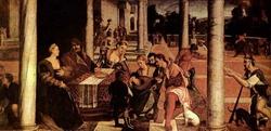 Притча о Лазаре (Бонифацио Веронезе)