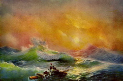 Девятый вал (Айвазовский И.К., 1850)