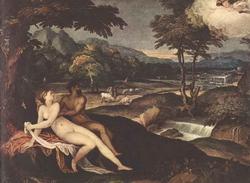 Юпитер и Ио (Андреа Скиавоне)