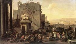 Римский рынок (Иоганесс Лингельбах)