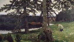 Озеро (А.М. Васнецов, 1902)