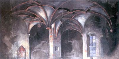Склеп замка Боротин. 1908 г.