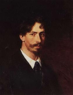 Автопортрет (Репин И.Е., 1878)