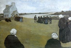 I Бретонские танцы. 1906 г.