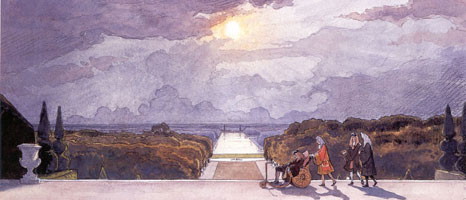 Версаль. Прогулка короля. 1897 г.