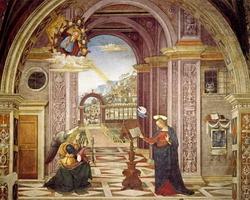 Благовещенье (Пинтуриккио, 1501 г.)