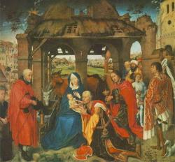 Поклонение волхвов (Роже ван-дер Вейден)