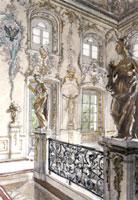 Петергоф. Купеческая лестница в Большом дворце. 1900 г.