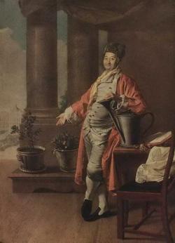 Портрет П.А. Демидова (Д.Г. Левицкий, 1773 г.)