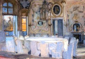 Зал Катальной горы в Ораниенбауме. 1901 г.
