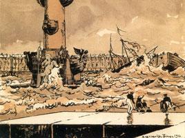 ... В опасный путь средь бурных вод... 1916 г.