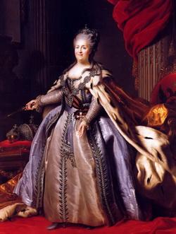 Екатерина II (Ф.С. Рокотов)