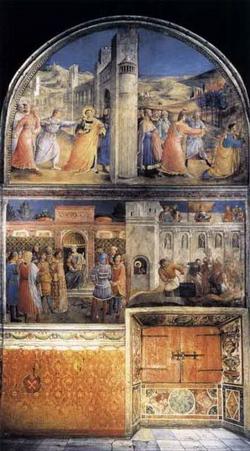 Мучения святого Стефана (Беато)