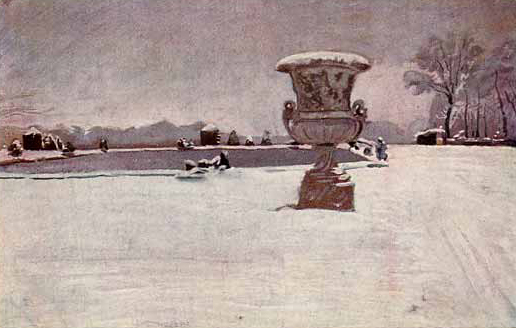 Снег в Версале (А.Н. Бенуа)
