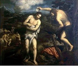 Крещение Господне (Фрагмент, Парис Бордоне)