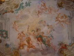 Плафон в Зале Осени (Доменико Пиола)
