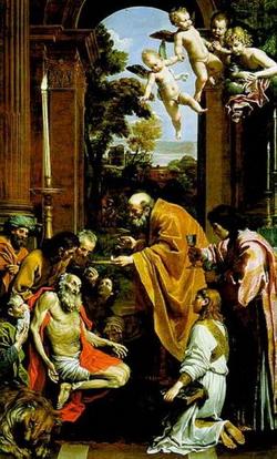 Причащение св. Иеронима (Доменикино)
