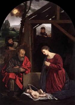 Поклонение младенцу Христу (Савольдо)