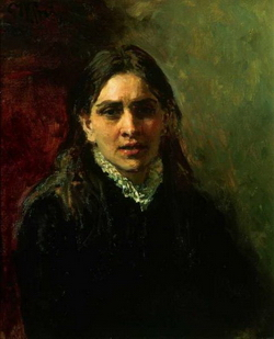 Портрет П.А. Стрепетовой (Репин И.Е., 1882)