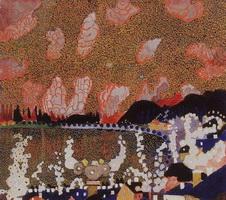 Городок (К.С. Малевич, 1910 г.)