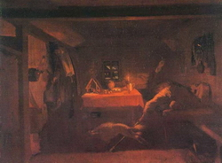 Анкор, еще анкор! (Федотов П.А., около 1851 г.)